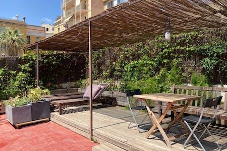7 Residents   Eixample   Spacious Vibrant Apt. - Incl. Terrace + BBQ
